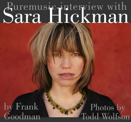 Puremusic interview with Sara Hickman