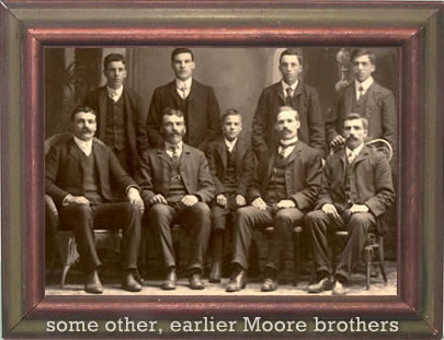 earlier Moore brothers