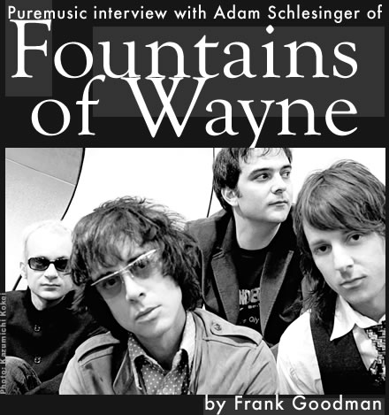 Puremusic interview with Fountains of Wayne