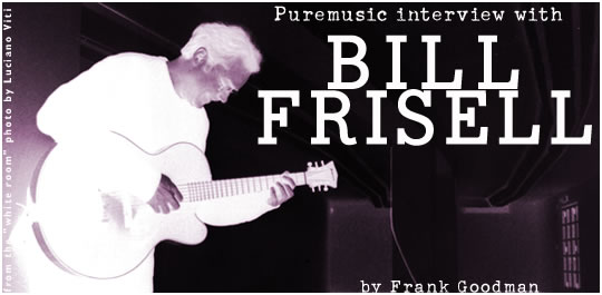 Puremusic interview with Bill Frisell