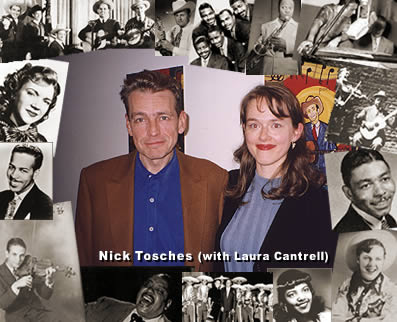 Nick Tosches (with Laura Cantrell)