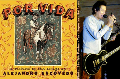 Por Vida cover  +  Alejandro photo by Steffen Paulus