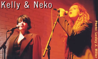 Kelly Hogan and Neko Case