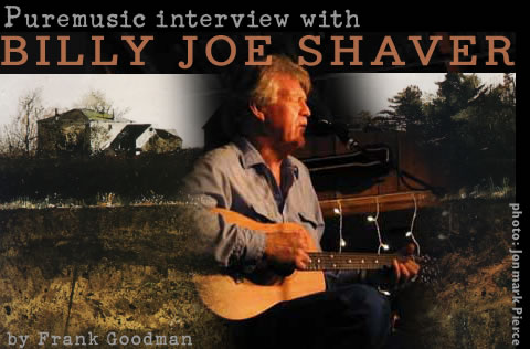 Puremusic interview with Billy Joe Shaver